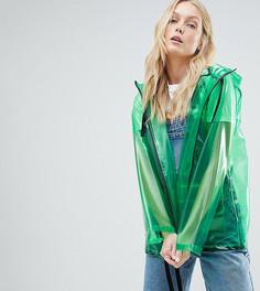 Куртка-дождевик ASOS DESIGN Tall - Зеленый