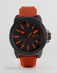 Часы с оранжевым ремешком BOSS Orange By Hugo Boss New York - Оранжевый