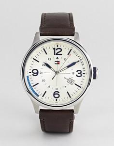 Коричневые часы Tommy Hilfiger Peter - Коричневый