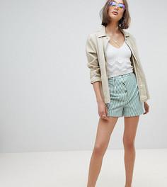 Шорты в винтажном стиле в полоску Reclaimed Vintage Inspired - Мульти