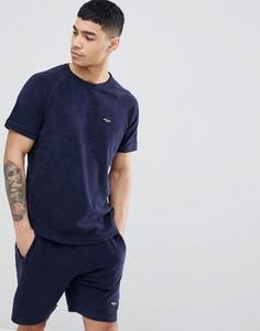 Махровая футболка Nicce London - Темно-синий