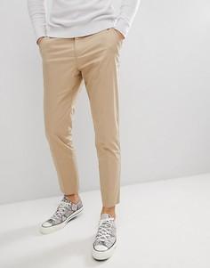 Узкие брюки Selected Homme - Бежевый