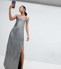 Платье макси с открытой спиной Lasula - Мульти
