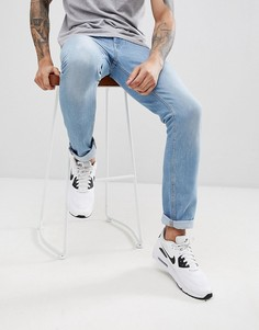 Светлые узкие джинсы Brooklyn Supply Co - Синий