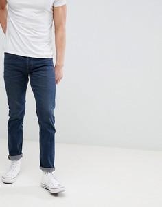 Темно-синие выбеленные джинсы узкого кроя Lee Jeans Daren - Синий