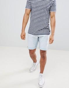 Выбеленные джинсовые шорты узкого кроя Celio - Белый