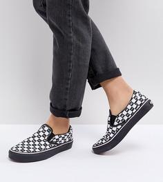 Кроссовки-слипоны Vans X Lazy Oaf - Черный