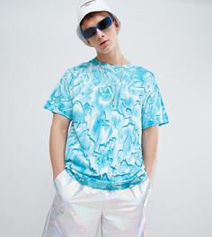Синяя фестивальная футболка Reclaimed Vintage Inspired - Синий