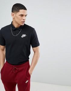 Черная футболка-поло Nike 909746-010 - Черный