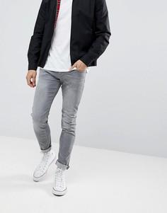 Эластичные джинсы узкого кроя Esprit - Серый