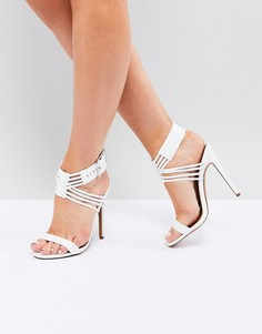 Босоножки на каблуке ASOS HURRICANE - Белый