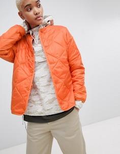 Стеганая куртка из ткани рипстоп Carharrt WIP - Оранжевый