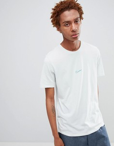Зеленая футболка с тропическим принтом Nike SB 911940-006 - Зеленый