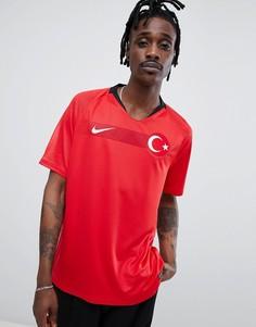 Красная рубашка Nike Football Turkey Home Stadium 893900-657 - Красный