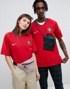Бордовая рубашка Nike Football Portugal Home Stadium 893877-687 - Красный