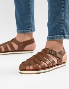 Светло-коричневые сандалии Frank Wright - Рыжий