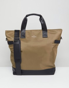 Нейлоновая сумка-тоут Peter Werth Nason - Зеленый
