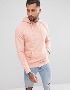Розовый oversize-худи Blend - Розовый