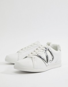 Белые кроссовки с логотипом Versace Jeans Runner - Белый