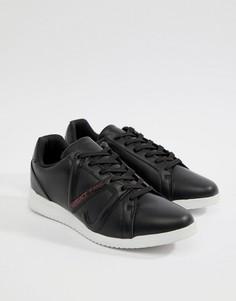 fe6293152baa Черные кроссовки с логотипом Versace Jeans Runner - Черный