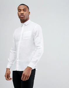 Рубашка из 100% льна Celio - Белый