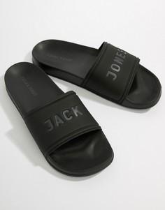 Шлепанцы Jack & Jones - Черный