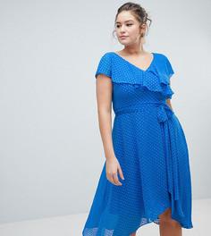 Платье с запахом Coast Plus - Синий