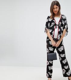 Широкие брюки с цветочным принтом Supermom Maternity - Мульти