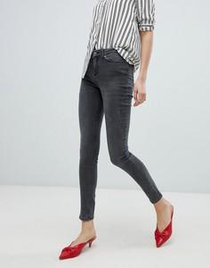 Выбеленные джинсы скинни Vero Moda - Серый
