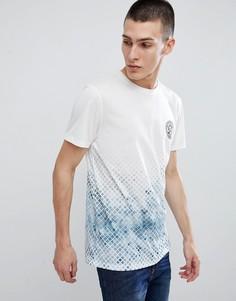 Белая футболка с принтом New Look - Белый