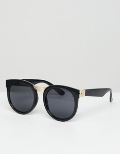 Солнцезащитные очки кошачий глаз AJ Morgan - Черный