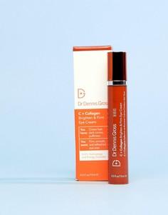 Крем для кожи вокруг глаз Dr Dennis Gross C+ Collagen Brighten + Firm - Бесцветный