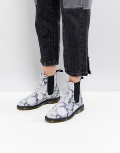 Ботинки челси с эффектом змеиной кожи Dr.Martens Kensington - Мульти
