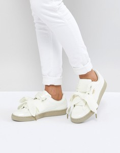 Лакированные кроссовки Puma Basket Basket - Белый