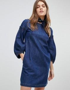 Джинсовое платье Esprit - Синий