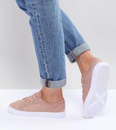 Кроссовки для широкой стопы ASOS DESIGN Daisy - Бежевый