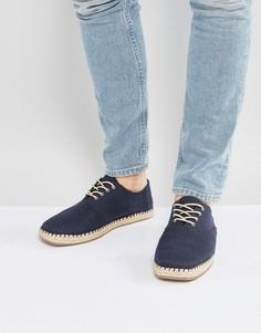 Темно-синие туфли TOMS Camino - Темно-синий