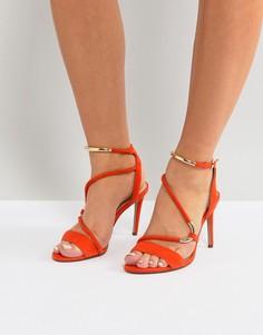 Оранжевые босоножки с ремешками Carvela Barely There - Оранжевый