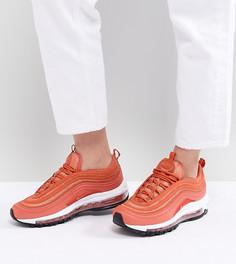 Коралловые кроссовки Nike Air Max 97 - Розовый