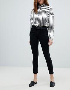 Зауженные джинсы пуш-ап Only - Черный