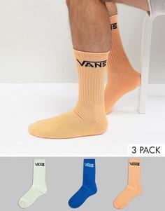 3 пары цветных классических носков Vans 3 V00XSEASR - Мульти