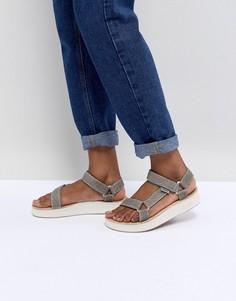Зеленые сандалии Teva Midform Universal - Зеленый
