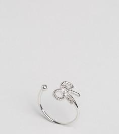 Посеребренное кольцо с бантом в винтажном стиле Olivia Burton - Серебряный