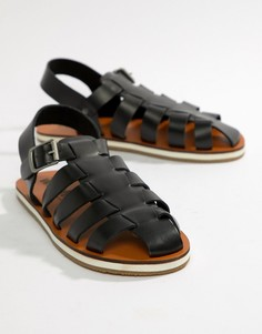 Черные сандалии Frank Wright - Черный