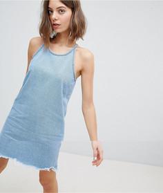 Джинсовое платье на бретельках Vero Moda - Синий