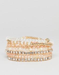 Набор браслетов-фенечек ALDO - Розовый