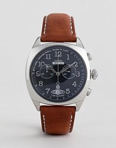 Светло-коричневые часы Vivenne Westwood Hampstead - Рыжий