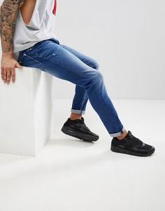 Синие выбеленные джинсы скинни Antony Morato - Синий