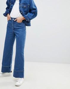 Укороченные джинсы Kowtow - Синий