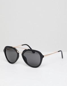 Большие солнцезащитные очки AJ Morgan - Кремовый